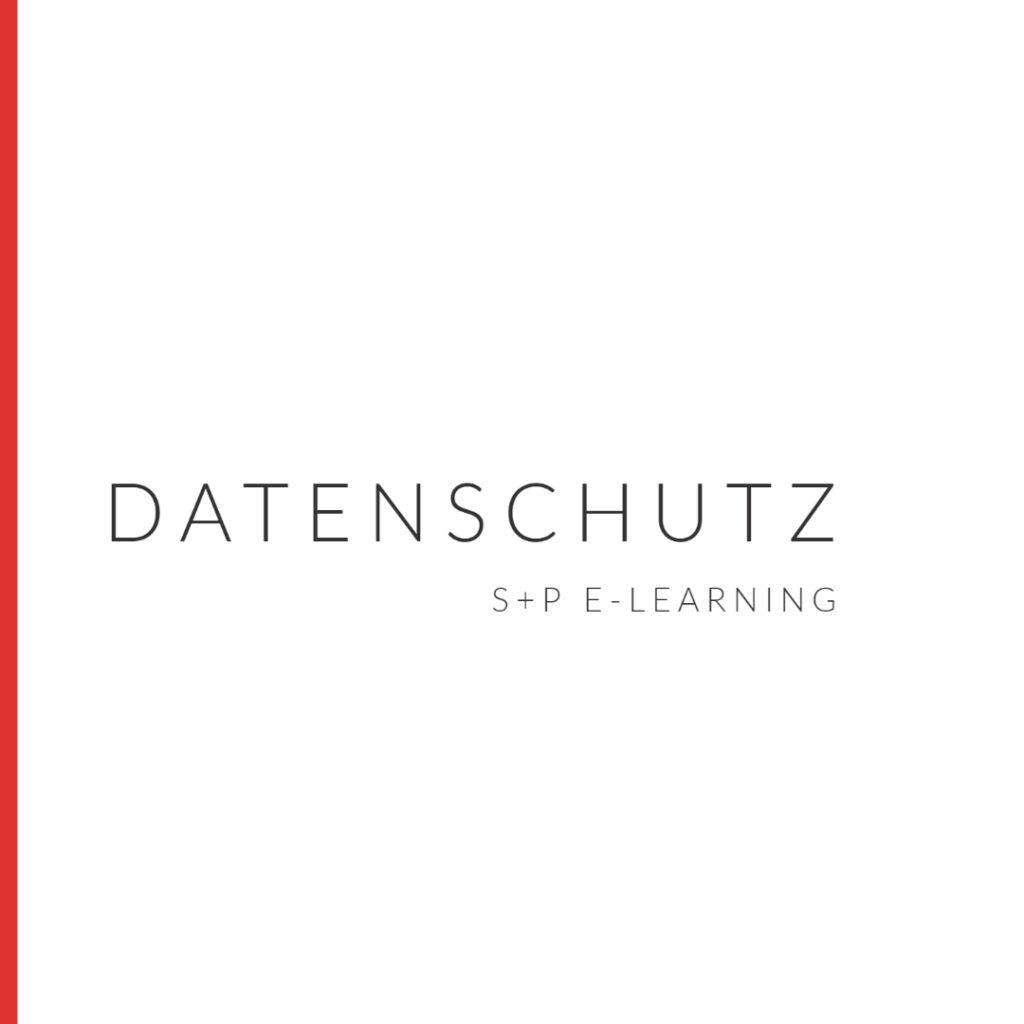E-Learning Datenschutz