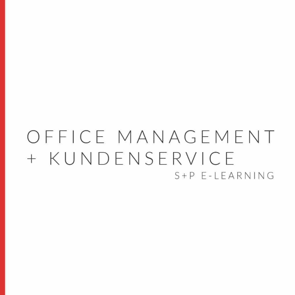 E-Learning Office Management & Kundenservice