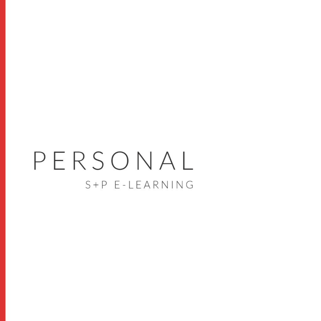 E-Learning Personal